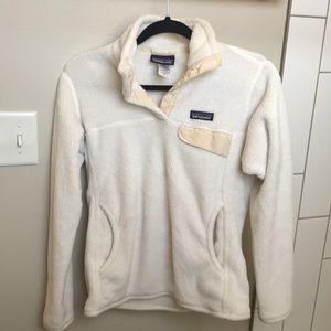 Women's Patagonia Re-Tool snap-T fleece pullover